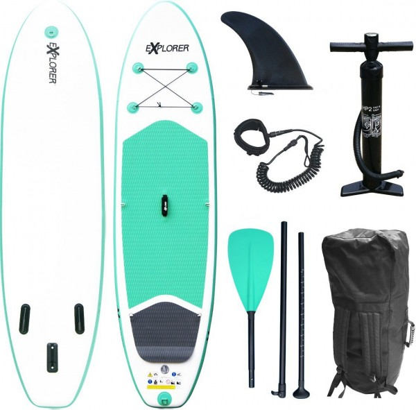 Stand-UP-Paddleset 300 mint SUP 2021 Explorer