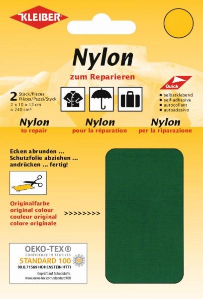 Nylon-Flicken Grün