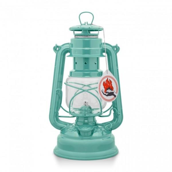 Lampe Petroleum Feuerhand lichtgrün