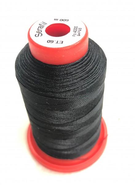 Nähgarn Polyester 60/600 schwarz