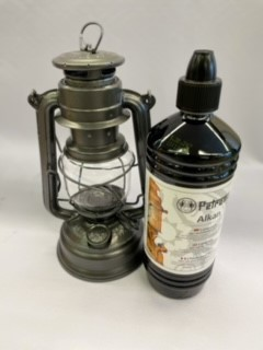 Feuerhand + Petroleum SET Sparkling Iron