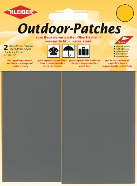 Outdoor-Patches Hellgrau