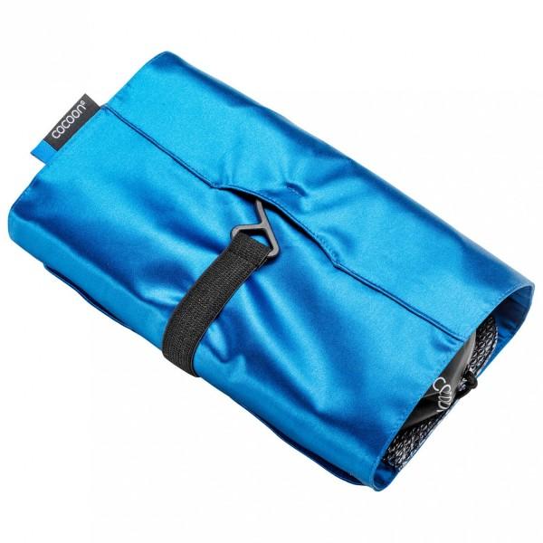 Washbag Kit Minimalist Silk Blue Lagoon