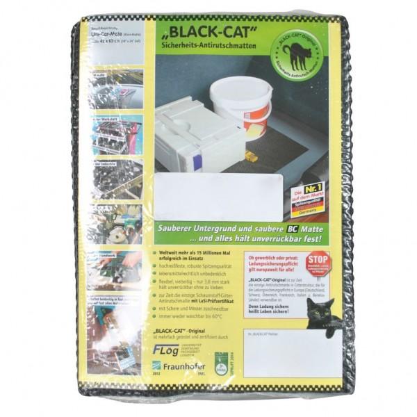Antirutsch schwarz 60 x 45 cm Black-Cat