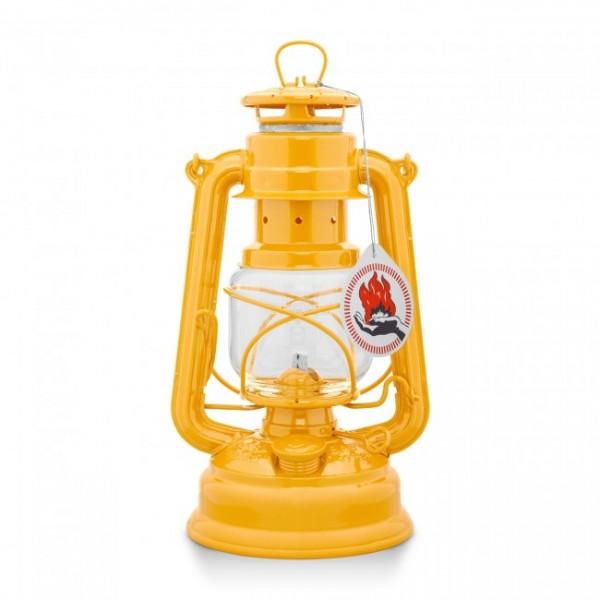 Lampe Petroleum Feuerhand gelb