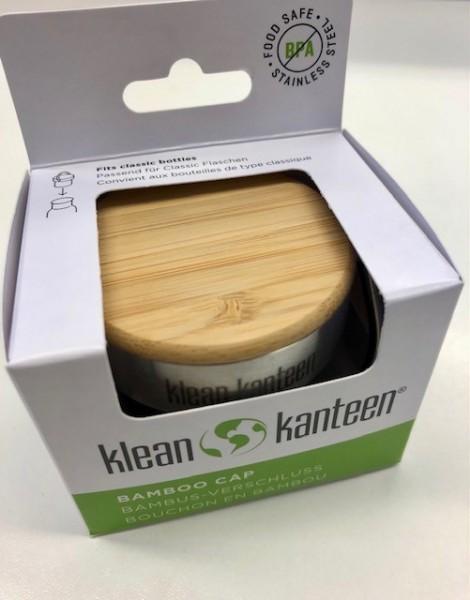 Verschluss Klean Kanteen Bambus