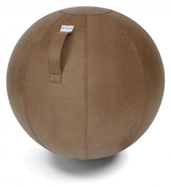 Sitzball VLUV VEEL 60-65 cm Cognac braun