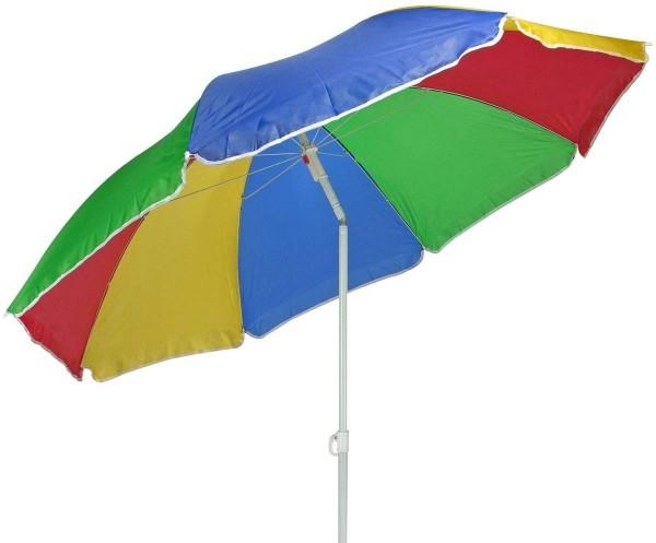 Sonnenschirm knickbar vers. Farben 170 cm