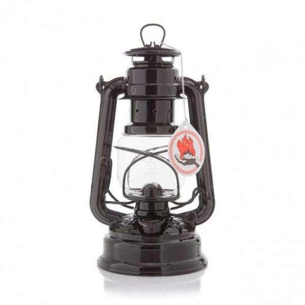 Lampe Feuerhand + Petroleum SET schwarz
