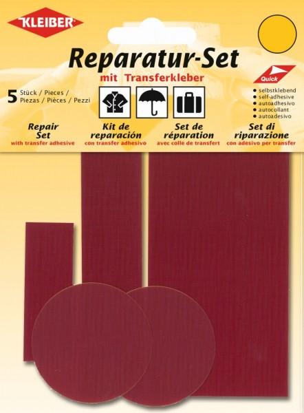 Reparatur-Set Nylon Dunkelrot