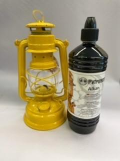 Feuerhand + Petroleum SET Gelb