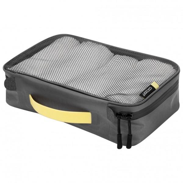 Packbeutel Cube laminiertem Netz M yellow