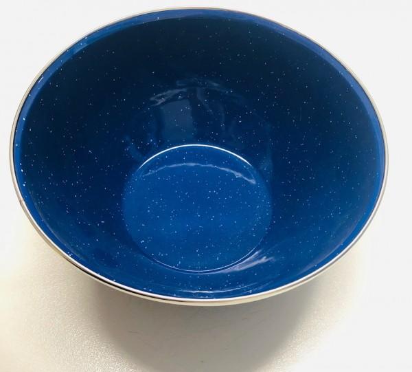 Schüssel Emaille 21 cm blau