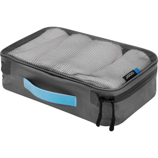 Packbeutel Cube mit Netz Cocoon black