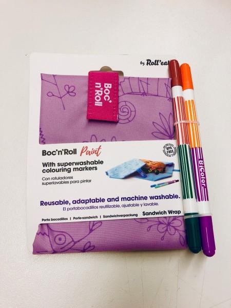 Boc'n'Roll Paint chameleon/lila