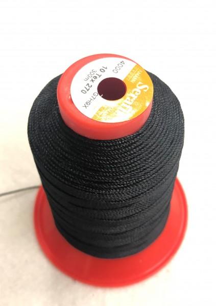 Nähgarn Polyester 10/300 schwarz