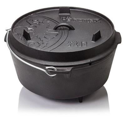 Feuertopf Dutch Oven 12 mit Füßen
