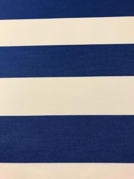 Markisenstoff Dralon 120cm blau/weiß