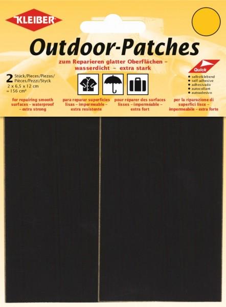 Outdoor-Patches Schwarz