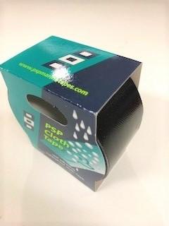 Gewebeklebeband Duck Tape Schwarz