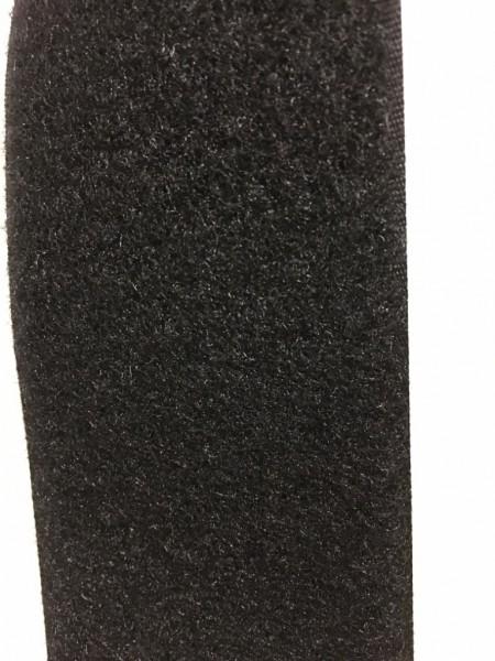 Flauschband Selbstklebend 50mm schwarz