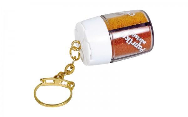 Gewürzstreuer Mini Schlüsselanhänger