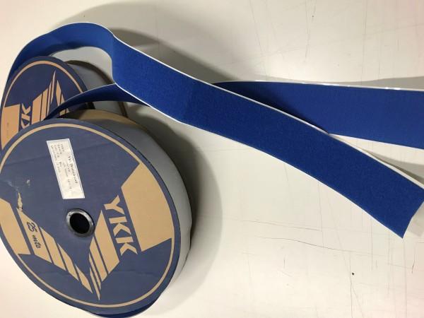 Restposten Klettband selbstklebend 50mm Blau