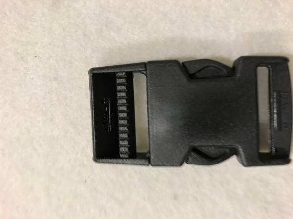 Steckschnalle 30mm Schwarz