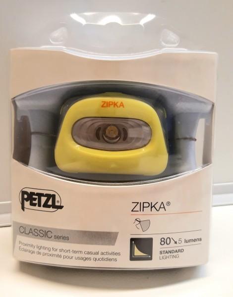 Stirnlampe Zipka Gelb Petzl