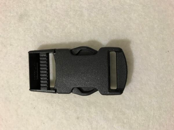 Steckschnalle 25mm Schwarz