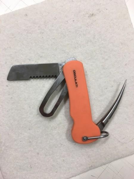 Seglermesser orange