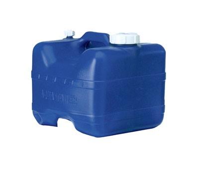 Kanister 15 L blau mit Hahn