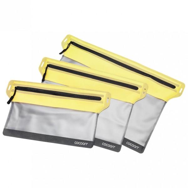 Zippertasche wasserdicht M yellow