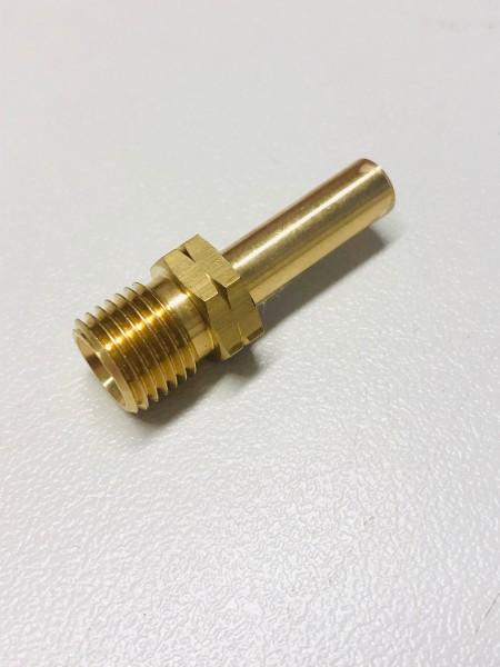 Gas überg. 1/4 lks x 8 mm Rohr