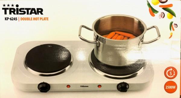 Elektrische Kochplatte 2 Brenner 2500W