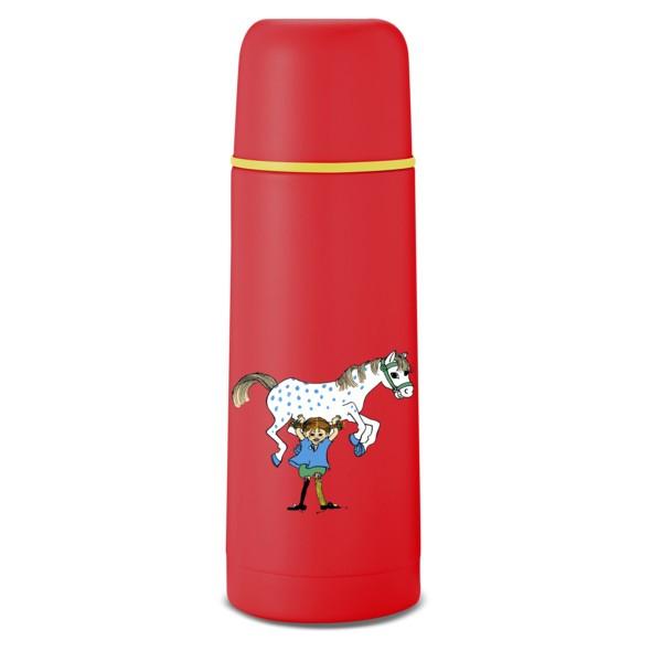 Thermosflasche 0,35L Pippi Rot