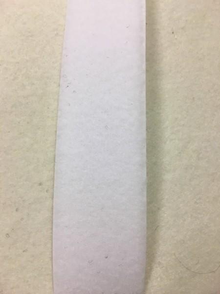 Flauschband Standard 50mm weiß