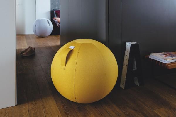 Sitzball VLUV LEIV 50 - 55 cm mustard gelb