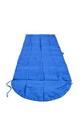 Schlafsack Inlett Seide blau BasicNature