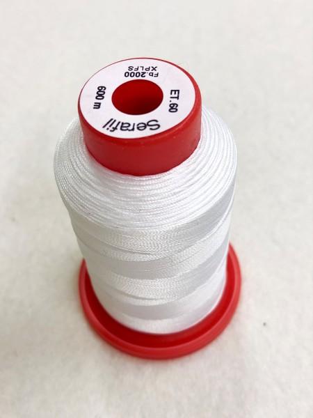 Nähgarn Polyester 60/600 weiß