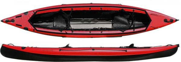 Boot Scubi 2 XL Rot Schwarz